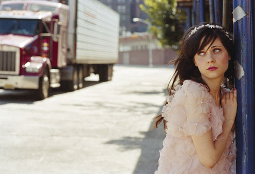 Love her band She&Him, her movies, and her diet!