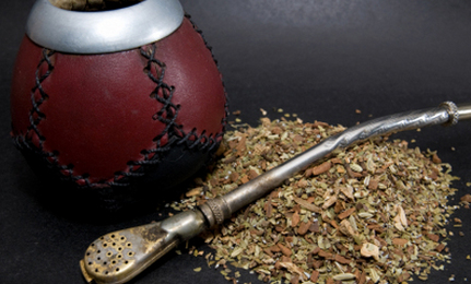 Yerba mate: I know it looks suspicious but it's wholesomely cultural, I swear.