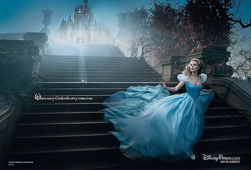 I'm going to Florida next week and here's a Disney ad featuring Scarlett Johansson.
