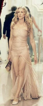 "We all know the ""naked dress"" already, so what should this one be dubbed?"