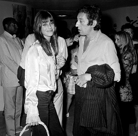 Jane Birkin at the Cannes Film Festival in 1969.