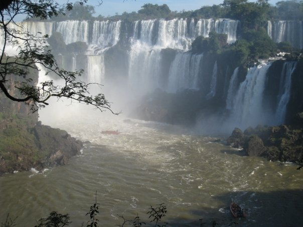 I couldn't help it: seeing these falls was literally breathtaking.