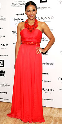 My favorite look was Paula Patton in Andrew Gn.