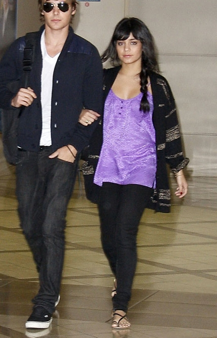 With her girlfriend *ahem* boyfriend looking relaxed but fresh