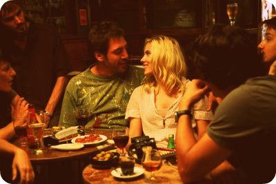 Javier Bardem and Scarlett Johansson in Vicky Cristina Barcelona