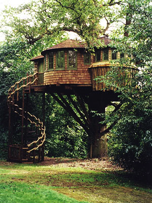 My life long aspiration is to acquire a house with a spiral stair.