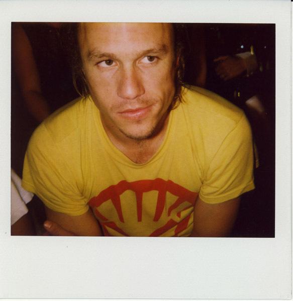 Heath Ledger polaroid
