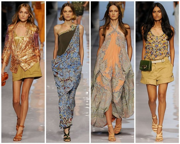 My Favorite Looks of the Etro Spring 2009 Collection