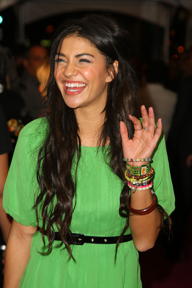 Jessica Szohr has badass style (post to follow) and always always stacks some bracelets.
