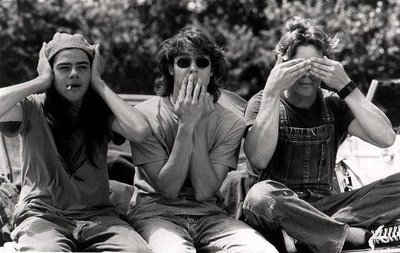 Dazed and Confused: See No Evil, Hear No Evil, Speak No Evil