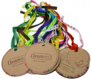 Eco-friendly jewelry: Brazilets