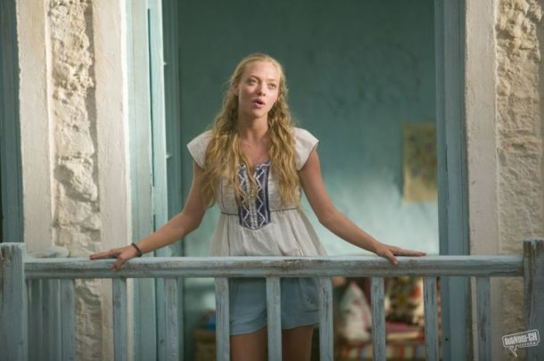 Amanda Seyfried looks bohemian in Mamma Mia