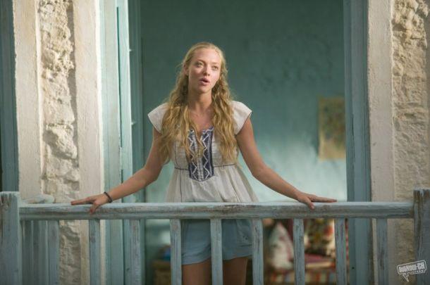 Amanda Seyfried looks bohemian in Mamma Mia