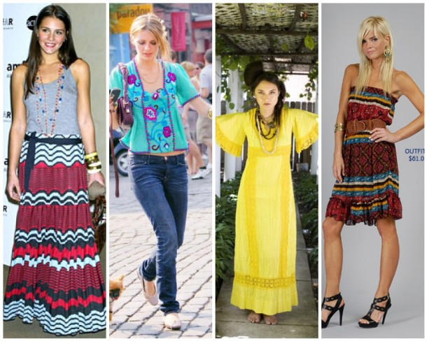 Margherita Missoni, Mischa Barton, a Lookbook ensemble and a Forever 21 outfit.