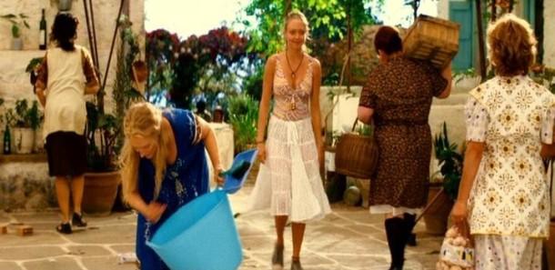 Amanda Seyfried as Sophie in Mamma Mia, rare