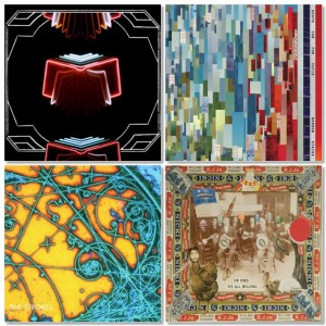 Arcade Fire-Neon Bible, Death Cab-Narrow Stairs, The Strokes-Is This It?, Dr. Dog-We All Belong