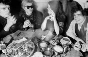 Paul Morrissey, Andy Warhol, Janis Joplin & Tim Buckley.