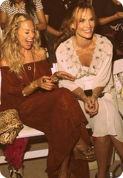 Rachel Zoe and Molly Sims