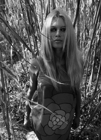Psychedelic Brigitte Bardot