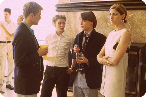 Ryan Phillipe, Clare Danes, Kieran Culkin and Amanda Peet in Igby Goes Down