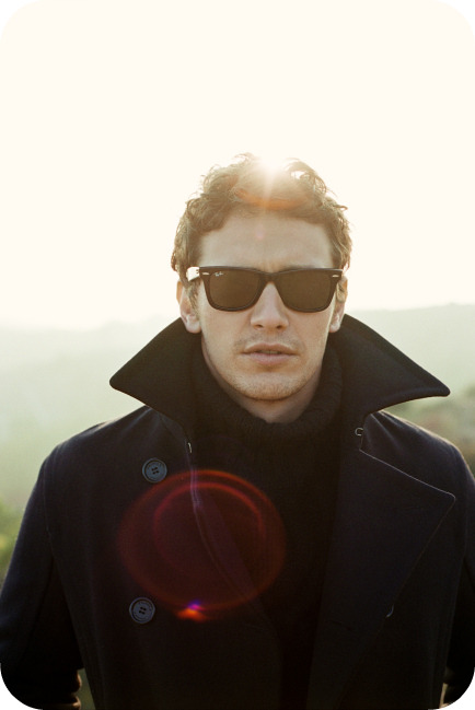 James Franco in sunglasses