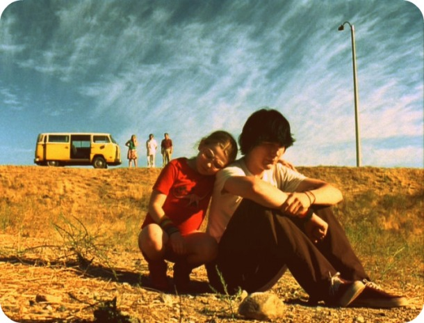 Abigail Breslin and Paul Dano in Little Miss Sunshine