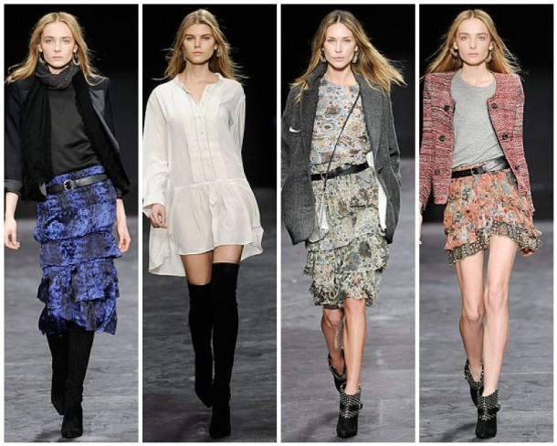 My favorite Looks from the Isabel Marant Fall 2009 collection