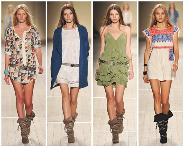 My favorite looks from the Isabel Marant Spring 2009 collection