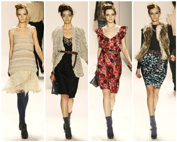My favorite looks from the Rebecca Taylor Fall 2009 Collection