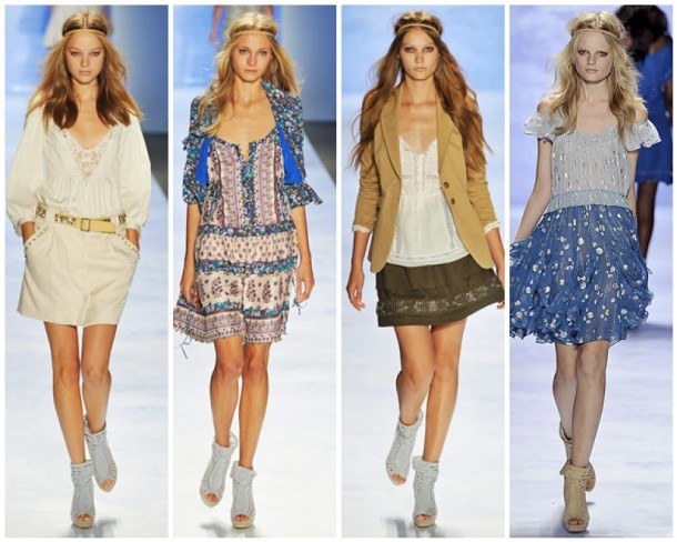 My favorite looks from the Rebecca Taylor Spring 2009 Collection