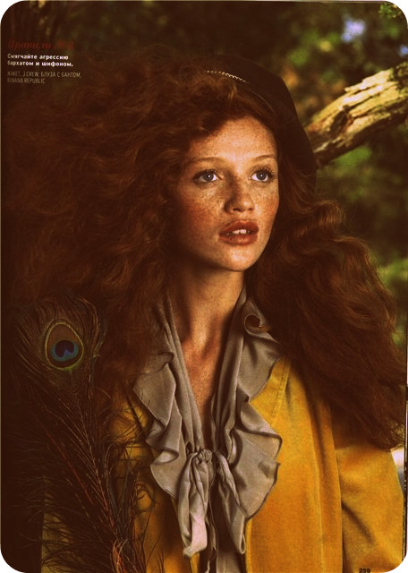 Cintia Dicker's freckles