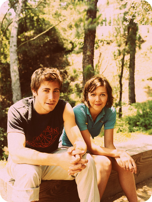 Jake and Maggie Gyllanhaal