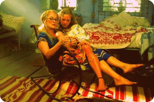 Meryl Streep and Amanda Seyfried in Mamma Mia