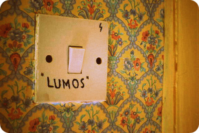 Harry Potter lumos lightswitch
