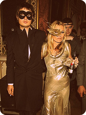 Kate Moss in Halloween costume
