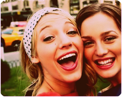 Serena Van der Woodsen and Blair Waldorf, Blake Lively and Leighton Meester