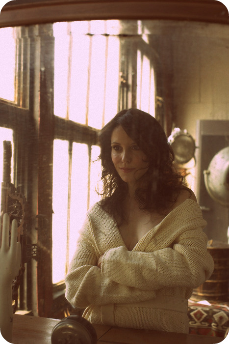 Mary Louise Parker sweater