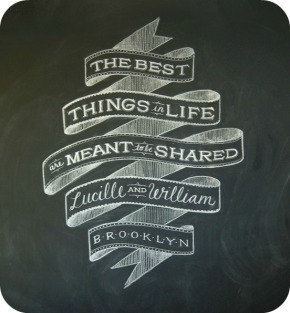 The Best Things in Life are Meant to be Shared